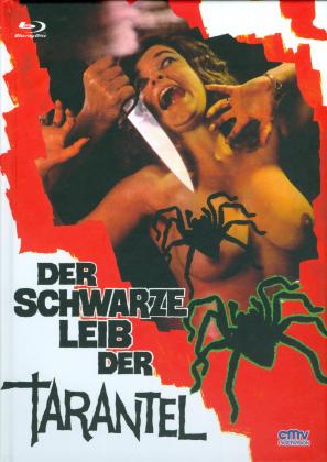 Der schwarze Leib der Tarantel (1971) (Cover A, Limited Edition, Mediabook, Uncut, Blu-ray + DVD)