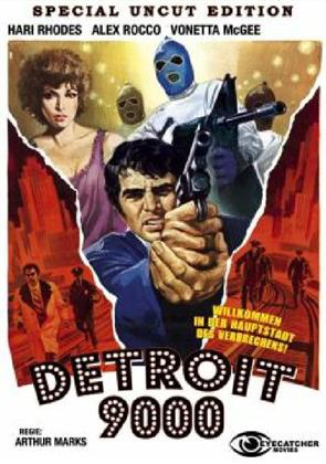 Detroit 9000 (1973) (Kleine Hartbox, Cover B, Special Edition, Uncut)