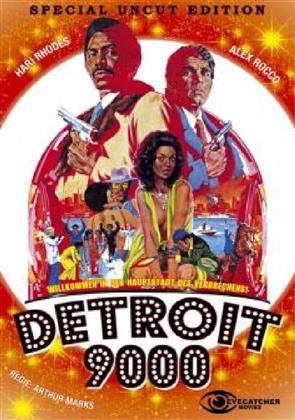 Detroit 9000 (1973) (Kleine Hartbox, Cover A, Special Edition, Uncut)