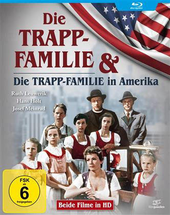 Die Trapp-Familie / Die Trapp-Familie in Amerika (Filmjuwelen, Double Feature)