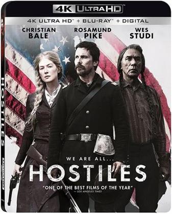 Hostiles (2017) (4K Ultra HD + Blu-ray)