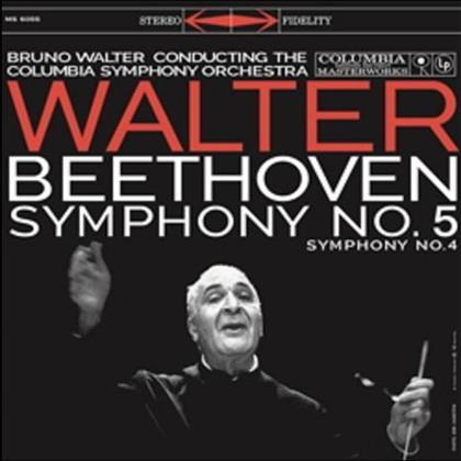 Ludwig van Beethoven (1770-1827), Bruno Walter & Columbia Symphony Orchestra - Symphonien Nr. 4 & 5 (LP)