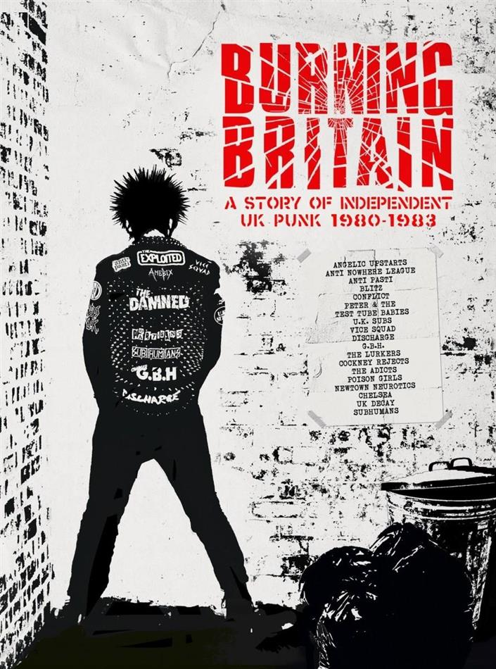Burning Britain - A Story Of Uk Independent Punk 1980-1984: 4CD Boxset (4 CDs)