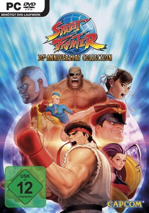 Street Fighter 30th Anniversary Collection (German Edition)