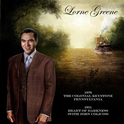 Lorne Greene - The Colonial Keystone: Pennsylvania (2 CDs)