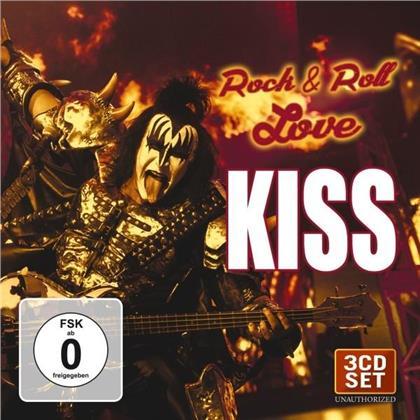 Kiss - Rock & Roll Love (2 CDs + DVD)
