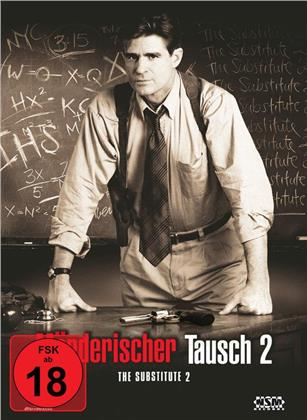 Mörderischer Tausch 2 - The Substitute 2 (1998) (Cover B, Limited Edition, Mediabook, Uncut, Blu-ray + DVD)