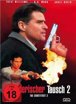 Mörderischer Tausch 2 - The Substitute 2 (1998) (Cover A, Limited Edition, Mediabook, Uncut, Blu-ray + DVD)