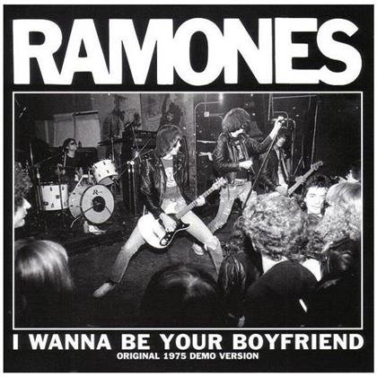 Ramones - I Wanna Be Your Boyfriend (2018 Reissue, Clear Vinyl, LP)