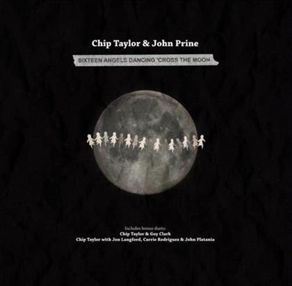 John Prine & Chip Taylor - 16 Angels Dancing Cross The Moon (LP)