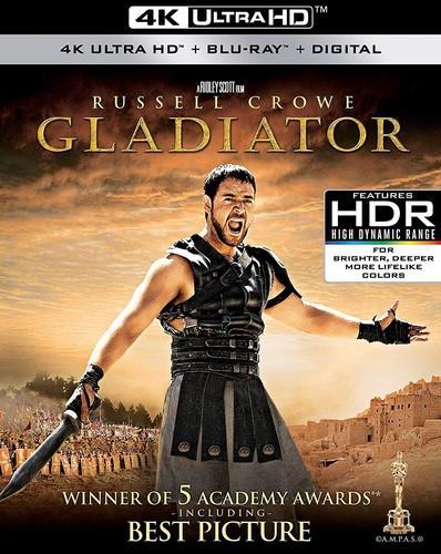 Gladiator (2000) (4K Ultra HD + Blu-ray)