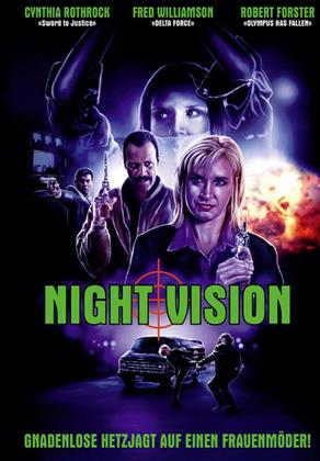 Night Vision (1997) (Cover A, Limited Edition, Mediabook, Uncut, Blu-ray + DVD)