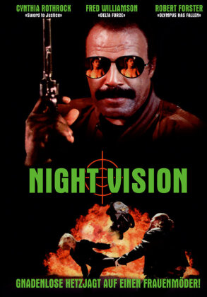 Night Vision (1997) (Cover C, Limited Edition, Mediabook, Uncut, Blu-ray + DVD)