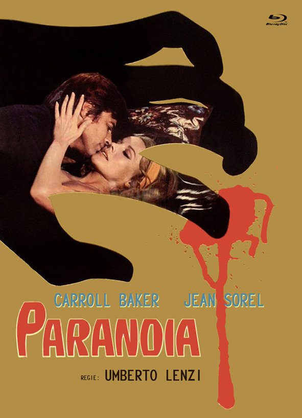 Paranoia (1970) (Cover B, Eurocult Collection, Limited Edition, Mediabook, Blu-ray + DVD)
