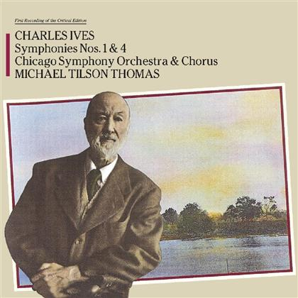 Charles Ives - Symphony 1 & 4 (Music On CD)