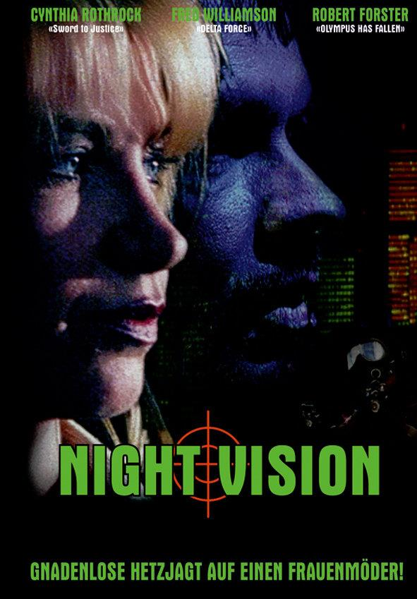 Night Vision (1997) (Cover D, Limited Edition, Mediabook, Uncut, Blu-ray + DVD)
