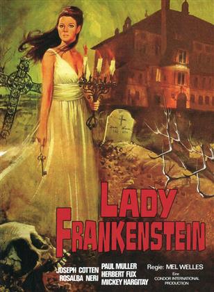 Lady Frankenstein (1971) (Cover B, Limited Edition, Mediabook, Uncut, Blu-ray + 2 DVDs)