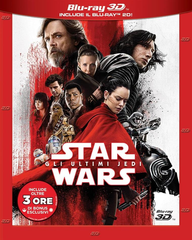 Star Wars - Episode 8 - Gli ultimi Jedi (2017) (Blu-ray 3D + 2 Blu-rays)