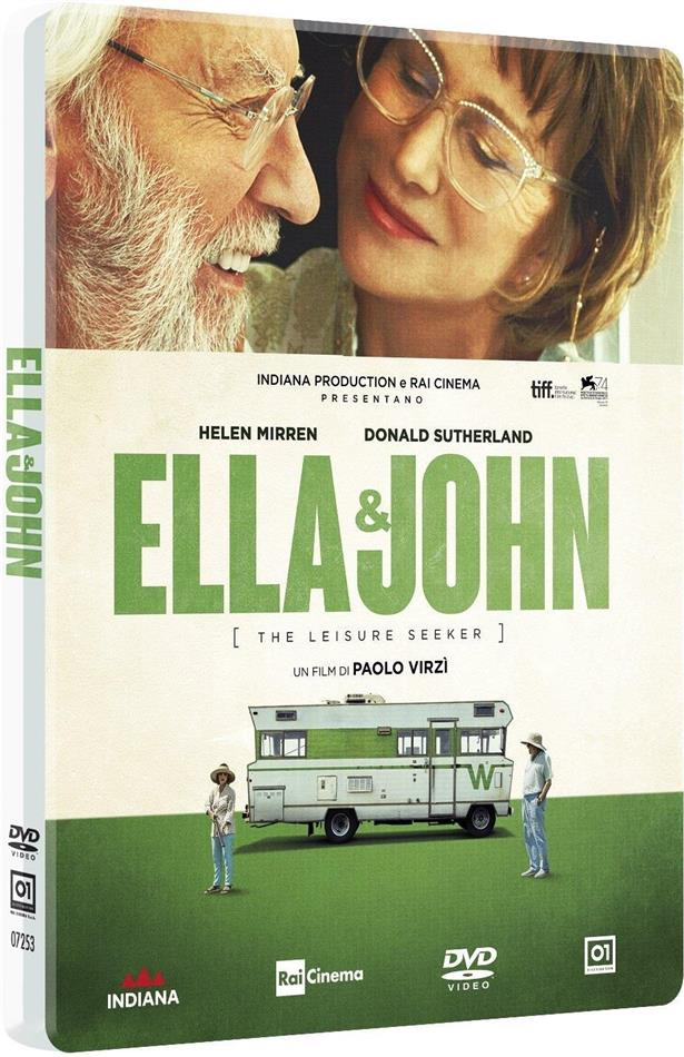 Ella & John - The Leisure Seeker (2017) (Edizione Limitata, Steelbook)