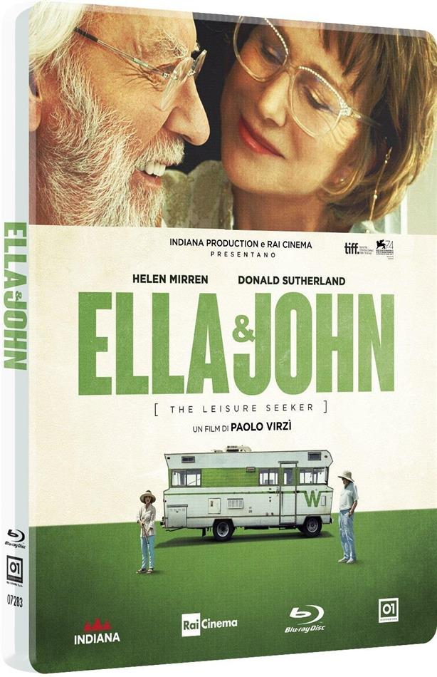 Ella & John - The Leisure Seeker (2017) (Limited Edition, Steelbook)