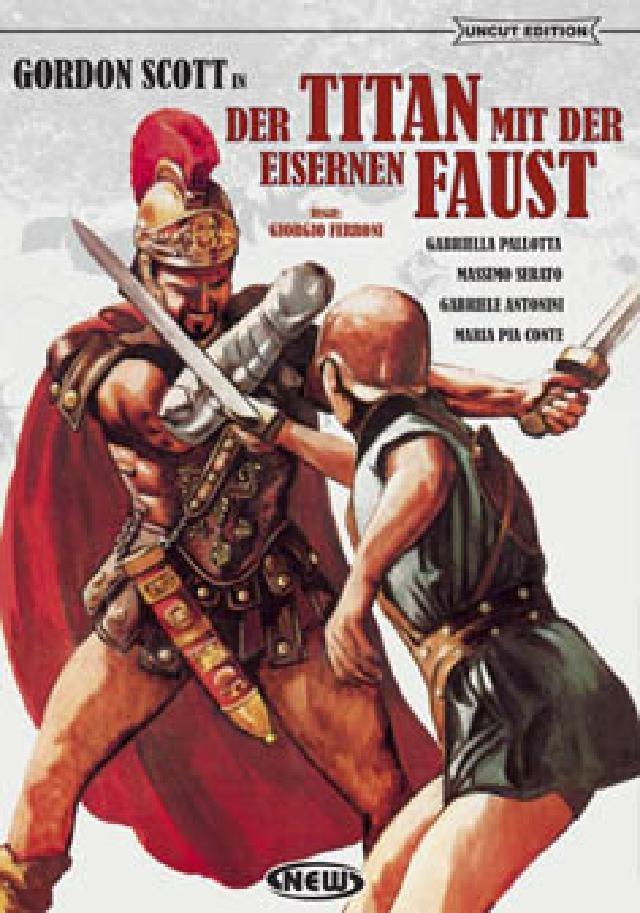 Der Titan mit der eisernen Faust (1964) (Kleine Hartbox, Cover B, Uncut)