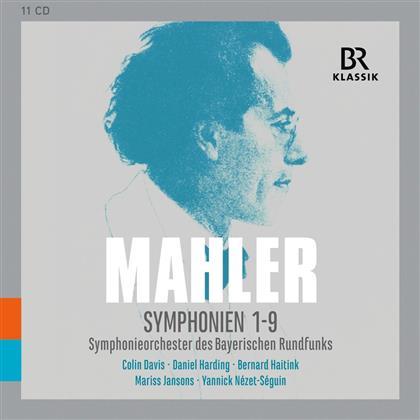 Gustav Mahler (1860-1911) & Bavarian Radio Symphony Orchestra - Symphonien 1-9 (11 CDs)