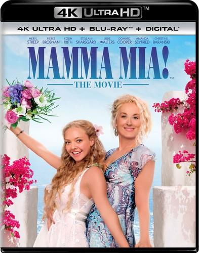 Mamma Mia! - The Movie (2008) (4K Ultra HD + Blu-ray)