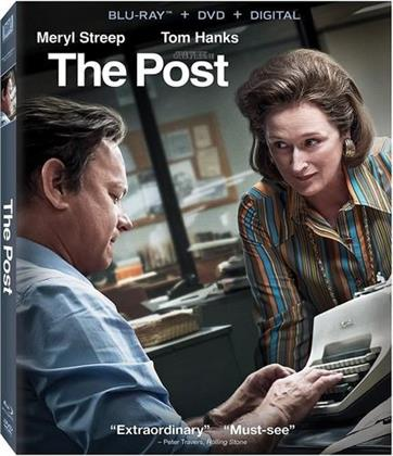 The Post (2017) (Blu-ray + DVD)