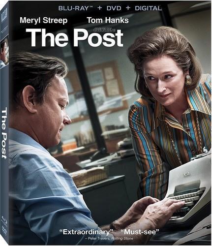 The Post (2017) (Blu-ray + DVD)