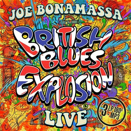 Joe Bonamassa - British Blues Explosion Live (3 LPs + Digital Copy)