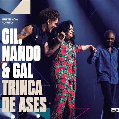 Gilberto Gil, Gal Costa & Nando Reis - Trinca De Ases (Digipack, 2 CDs)