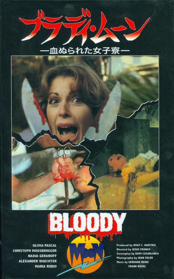 Bloody Moon (1981) (Grosse Hartbox, Cover C, Limited Edition, Uncut)