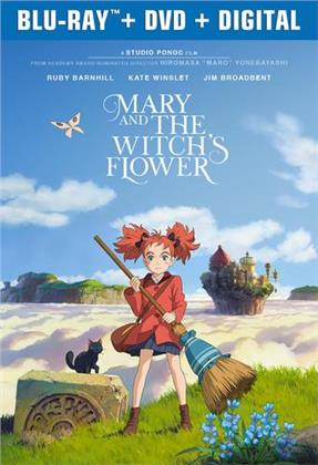 Mary and The Witch's Flower (2017) (Blu-ray + DVD)