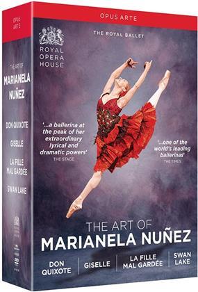 Marianela Nunez - The Art of Marianela Nunez - Don Quixote / Giselle / La fille mal gardée / Swan Lake (Opus Arte, 4 DVDs)