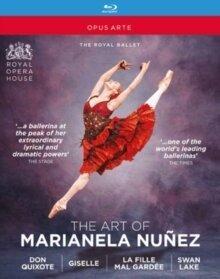 Marianela Nunez - The Art of Marianela Nunez - Don Quixote / Giselle / La fille mal gardée / Swan Lake (Opus Arte, 4 Blu-rays)