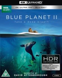 Blue Planet 2 - Take a deep breath (2017) (3 4K Ultra HDs + 3 Blu-rays)