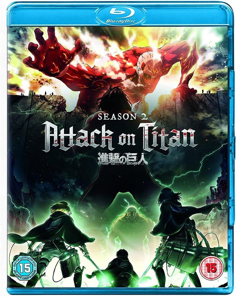 Attack on Titan - Season 2 (2 Blu-ray)