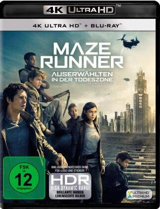 Maze Runner 3 - Die Auserwählten in der Todeszone (2018) (4K Ultra HD + Blu-ray)