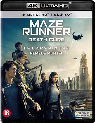 Maze Runner 3 - The Death Cure - Le Labyrinthe 3 - Le remède mortel (2018) (4K Ultra HD + Blu-ray)