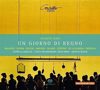 Gocha Abuladze, Davide Fersini, Giuseppe Verdi (1813-1901), Marcus Bosch & Cappella Aquileia - Un Giorno Di Regno (2 SACDs)