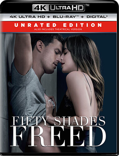 Fifty Shades of Grey 3 - Fifty Shades Freed (2018) (4K Ultra HD + Blu-ray)