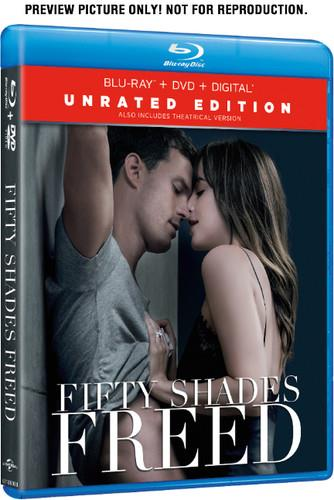 Fifty Shades of Grey 3 - Fifty Shades Freed (2018) (Unrated, Blu-ray + DVD)
