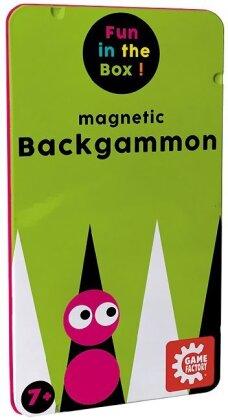 Magnetic Backgammon - Travel Game