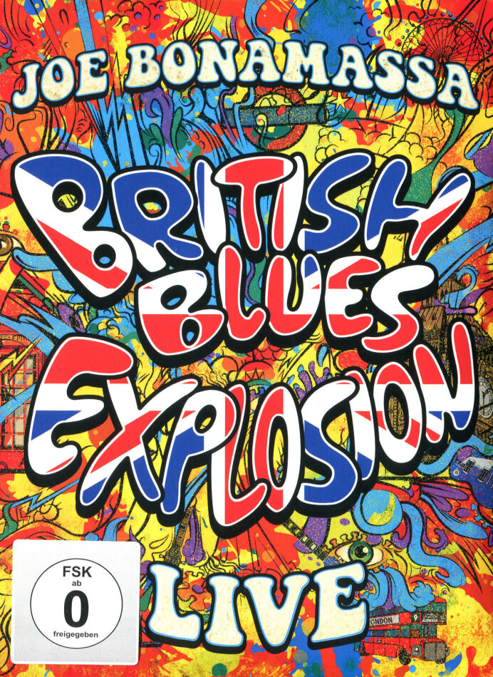 Joe Bonamassa - British Blues Explosion - Live (Digibook, 2 DVDs)