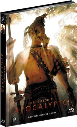 Apocalypto (2006) (Cover D, Limited Edition, Mediabook, Uncut, Blu-ray + DVD)