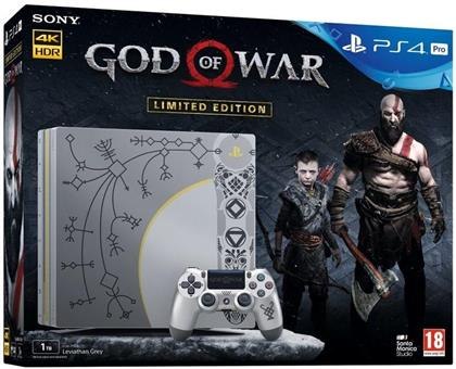 Sony Playstation 4 Console PRO 1TB God of War (Édition Limitée)