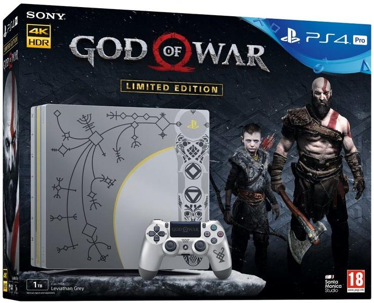 Sony Playstation 4 Console PRO 1TB God of War (Limited Edition)