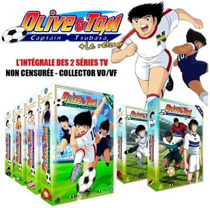 Olive & Tom - Captain Tsubasa / Olive & Tom - Captain Tsubasa: Le retour - L'intégrale des 2 séries TV (Unzensiert, Collector's Edition, 34 DVDs)