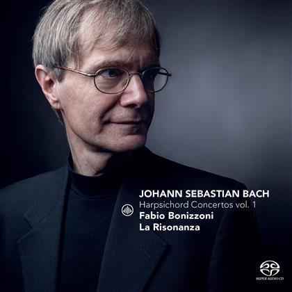 Johann Sebastian Bach (1685-1750), Fabio Bonizzoni & La Risonanza - Harpsichord Concertos Vol. 1 (SACD)