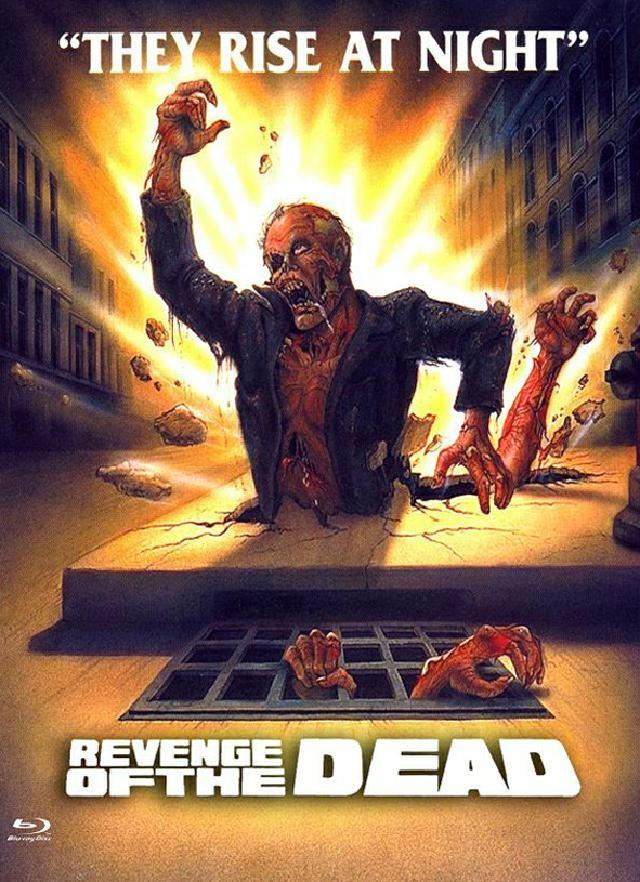Revenge of the Dead (1983) (Cover D, Eurocult Collection, Limited Edition, Mediabook, Blu-ray + DVD)